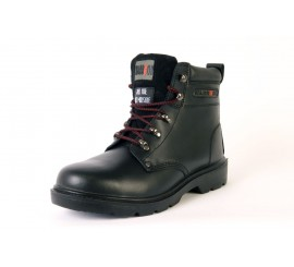 Warrior Black Ankle Boot - 0118MMB26