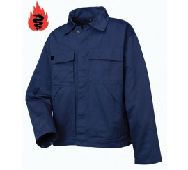 Warrior Navy Flame Retardant Jacket - 0118PJ