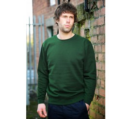 Warrior Classic Bottle Green Sweatshirt - 0118SSBG