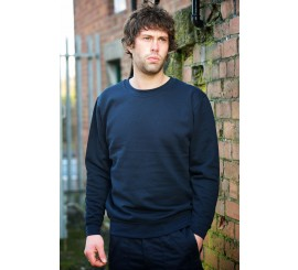 Warrior Classic Navy Sweatshirt - 0118SSN
