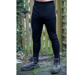 Warrior Thermal Long Johns - Black - 0118TLBL