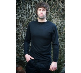 Warrior Long Sleeved Thermal Vest - Black - 0118TVLBL