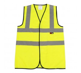 Warrior Waistcoat Yellow (100 Piece Bulk Pack) - 0118BPVEST