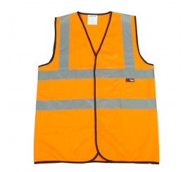 Warrior Hi Vis Waistcoat Orange - 0118WBFAGO