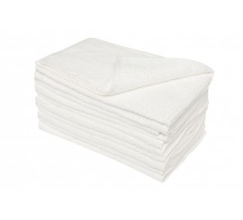 White Towelling Rag 10kg - 01219