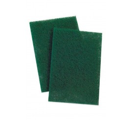 "9"" x 6"" Green Scotchbrite Pads (Singles) - 0122H20"