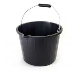 Black Builders Bucket - 0124D5B