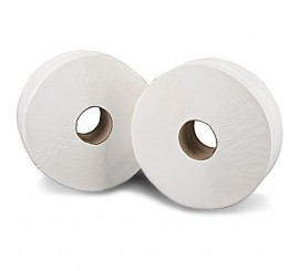 "X 6 Jumbo Toilet Roll 3""Core - 0126P08"