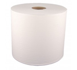 White 1000 Sheet Roll (Pack of 2) - 0126P117