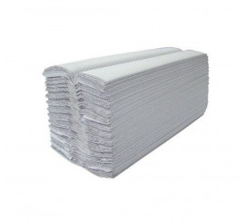 1 Ply White C Fold Towels - 0126P19