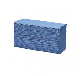 1 Ply Blue C Fold Towels X 2880 - 0126P21