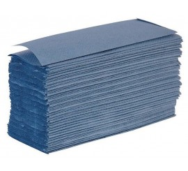 Blue Z Fold Hand Towels - 0126PZF