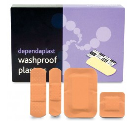 Assorted Wash Proof Plasters (Box of 100) - 01FPW