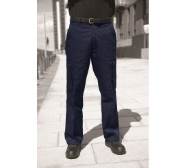 Warrior TR320 Cargo Trousers Navy - 01NWTR320NV
