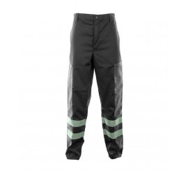 Black Ballistic Trousers C/W Hv Tape - 01NWTR4515BK