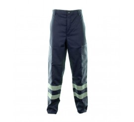 Navy Ballistic Trousers C/W Hv Tape - 01NWTR4515NV
