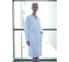 Ladies Warehouse Coat White - 01NWWC20WH