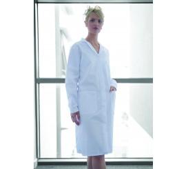 Ladies Warehouse Coat White - 01NWWC20WH