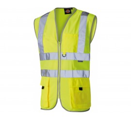 Dickies Hi Vis Technical Safety Waistcoat - 01SA22020