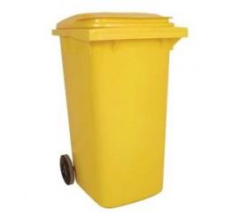 240 Litre Yellow Wheelie Bin - 01WBY240