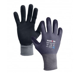 Black Nitrile Open Back Glove - 0111OBBKN