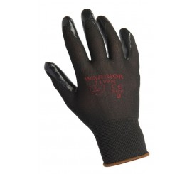 Warrior Black Nitrile Glove - 0111WN