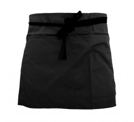 Warrior AP206 Half Apron - Black - 01NWAP206BK