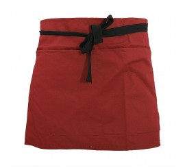 Warrior AP206 Half Apron - Red - 01NWAP206RD
