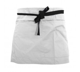 Warrior AP206 Half Apron - White - 01NWAP206WH