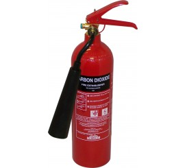 Jewel Saffire 2KG CO2 Extinguisher - 01FIRE2CO2