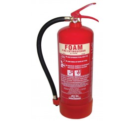 Jewel Saffire 6 Litre Foam Extinguisher - 01FIRE6F