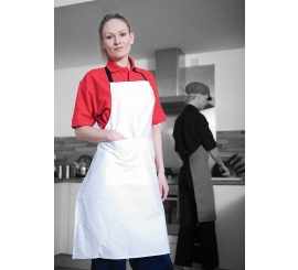 Warrior AP201 Apron White With Pocket - 01NWAP201WH