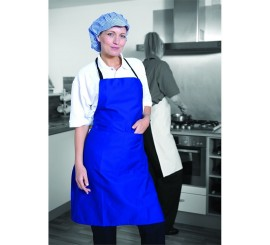 Warrior AP201 Apron Royal With Pocket - 01NWAP201RY