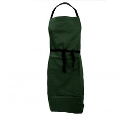 Warrior AP201 Apron Bottle Green With Pocket - 01NWAP201BG