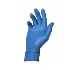 Warrior Dracogrip Blue Fishscale Grip Glove (Box of 48) - 01DGFSGGBL30