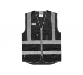 Warrior Black Executive Waistcoat - 0118WCEXBK