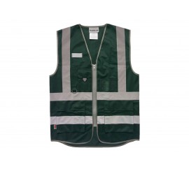 Warrior Bottle Green Executive Waistcoat - 0118WCEXBG