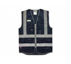 Warrior Navy Executive Waistcoat - 0118WCEXNV