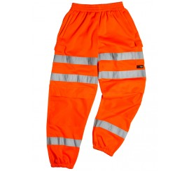 Warrior Georgia Orange Hi-Vis Stripe Jogger - 0118GEORGIAO