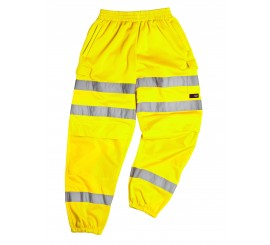 Warrior Georgia Yellow Hi-Vis Stripe Jogger - 0118GEORGIAY
