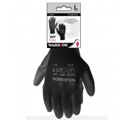 Head Carded Warrior Black Glove - 01HC11WP