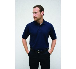 Warrior Polo Shirt Navy - 01HL209NV
