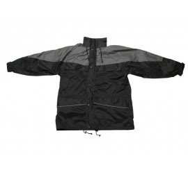 Warrior Illinois 3-in-1 Coat - Black/Charcoal - 0118ITTBC