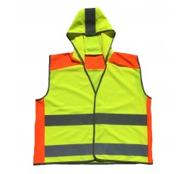 Warrior Hi-Viz Two Tone Child's Waistcoat - 0118WKTTFAG (kids)