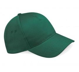 B15 Bottle Green Cotton B.ball Cap - Emb PDM Logo - PDB15BG