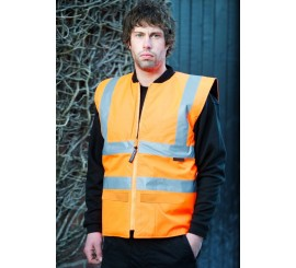 Warrior Hi-Vis Phoenix Bodywarmer Orange - 0118FAGBWO
