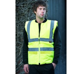 Warrior Hi Vis Phoenix Bodywarmer Yellow - 0118FAGBW
