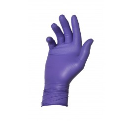 Warrior Dracogrip Purple Fishscale Grip Glove (Box of 50) - 01DGFSGGPU24