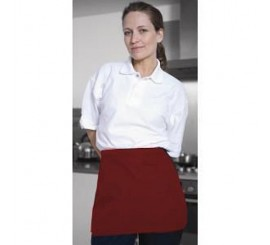 Warrior AP205 Half Apron - Red - 01NWAP205RD
