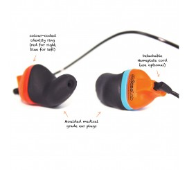 Sonolab Instant Fit Ear Plugs - 01SCFEPS